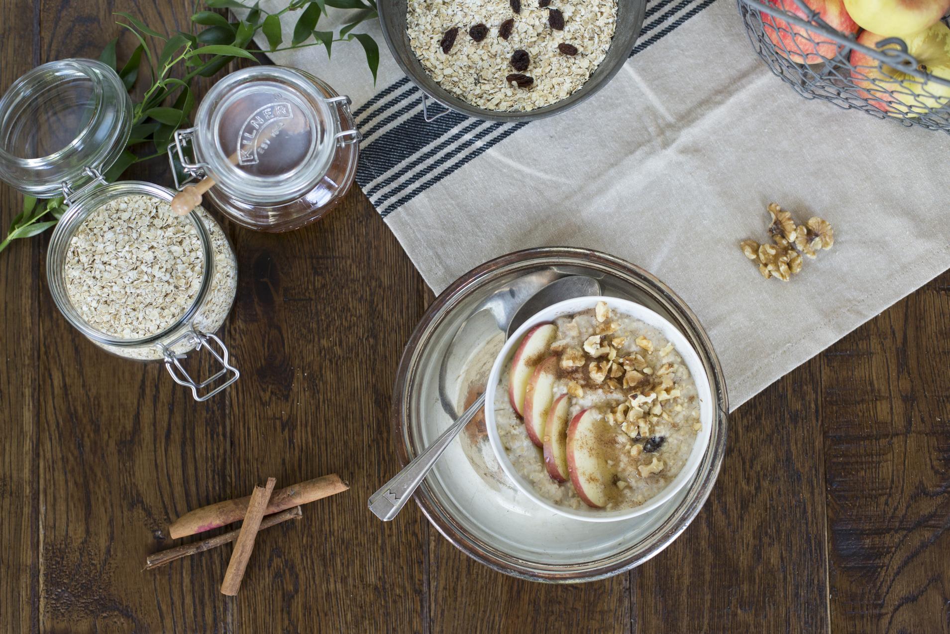 Panacea Opskrift Manuka Honning Og æblegrød Panacea